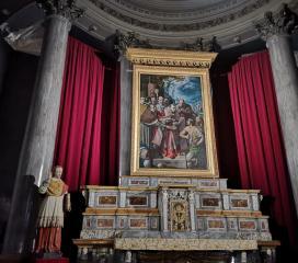 Interno della Chiesa dei Santi Gervasio e Protasio