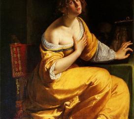 Artemisia Gentileschi, Conversione della Maddalena