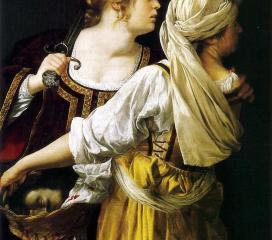 Artemisia Gentileschi, Giuditta e la sua ancella