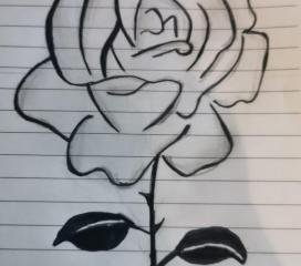 Ricordati di essere valorosa: sii la spina di una rosa. Alice
