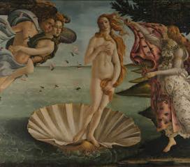 Nascita di Venere di Sandro Botticelli, Uffizi