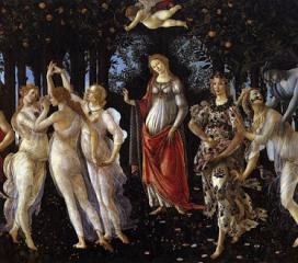 La Primavera di Sandro Botticelli, Uffizi