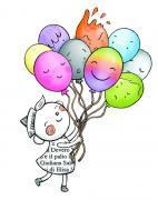 Echino e i palloncini