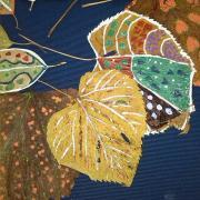 Echino foglie d'arte