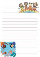 Carta da lettere di Echino