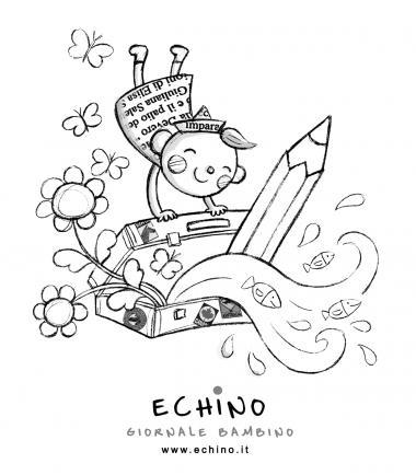 Pagine da colorare di Echino